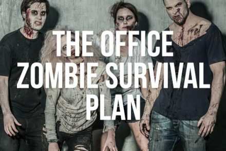 the office zombie survival plan