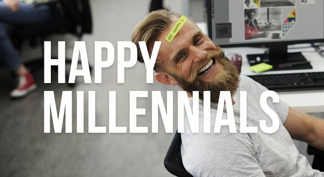 happy millennials