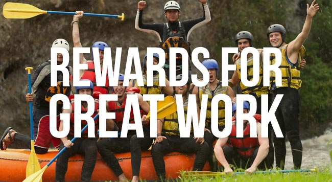 rewards for great work