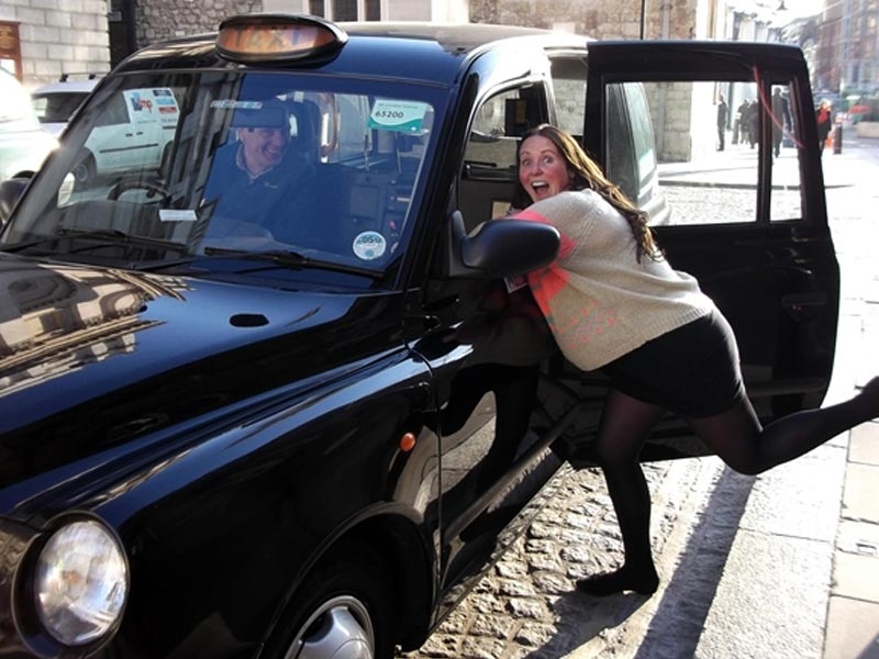 black cab treasure hunt