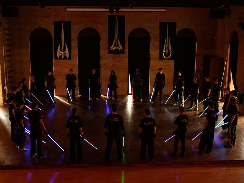 lightsaber school
