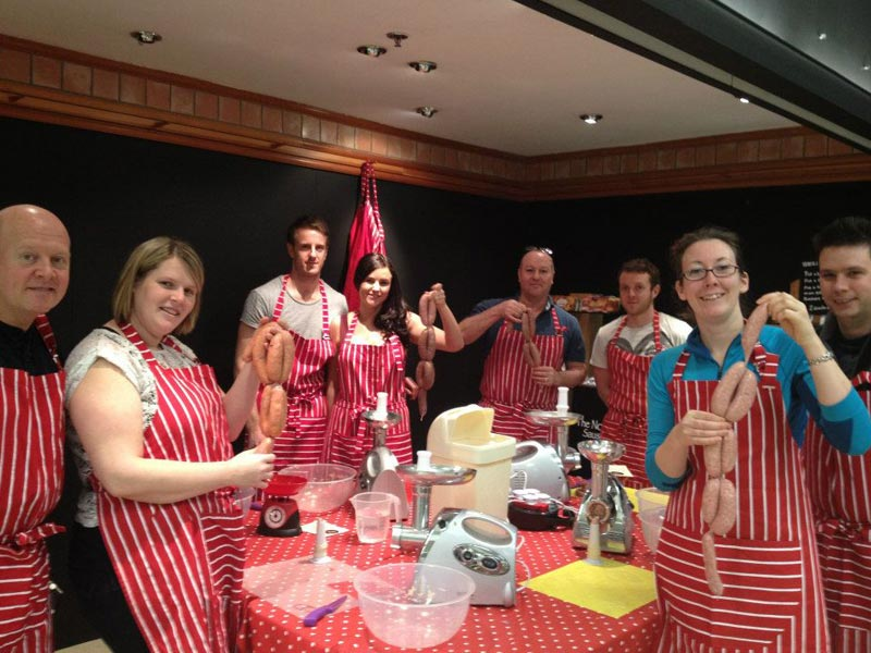 Cake Making Classes Northumberland : Food & Drink Team Building Company Away Days